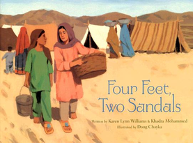 Four Feet, Two Sandals picture of book cover