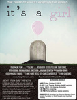 movie poster for It's a Girl